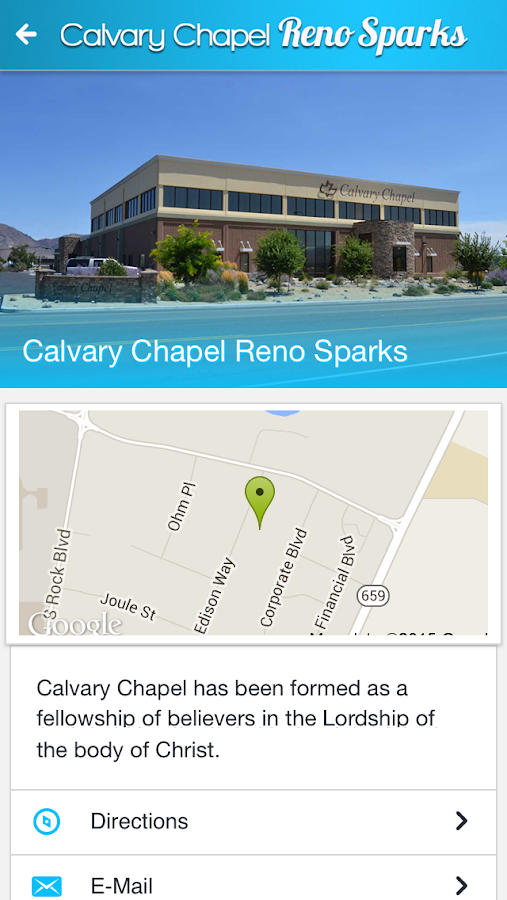 Calvary Chapel Reno/Sparks- screenshot