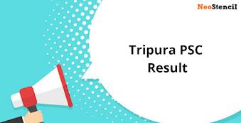 Tripura PSC Result 2020 - Check Tripura PSC Prelims Exam Result