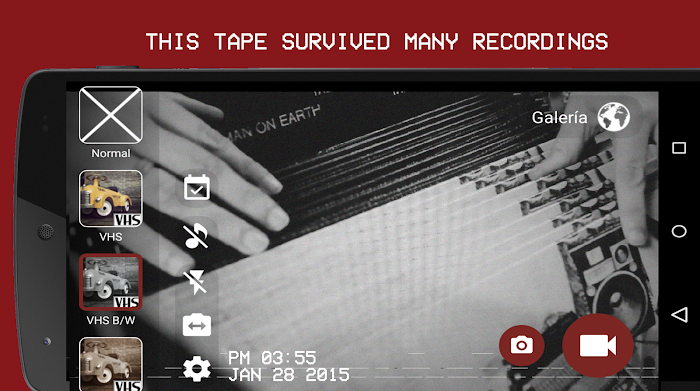 VHS Camera Recorder- screenshot