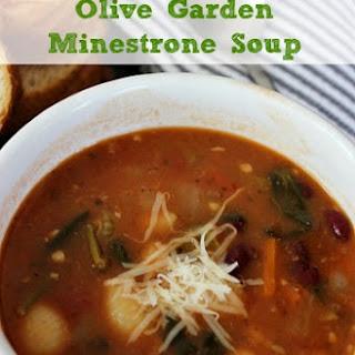 Copycat Olive Garden Minestrone Soup