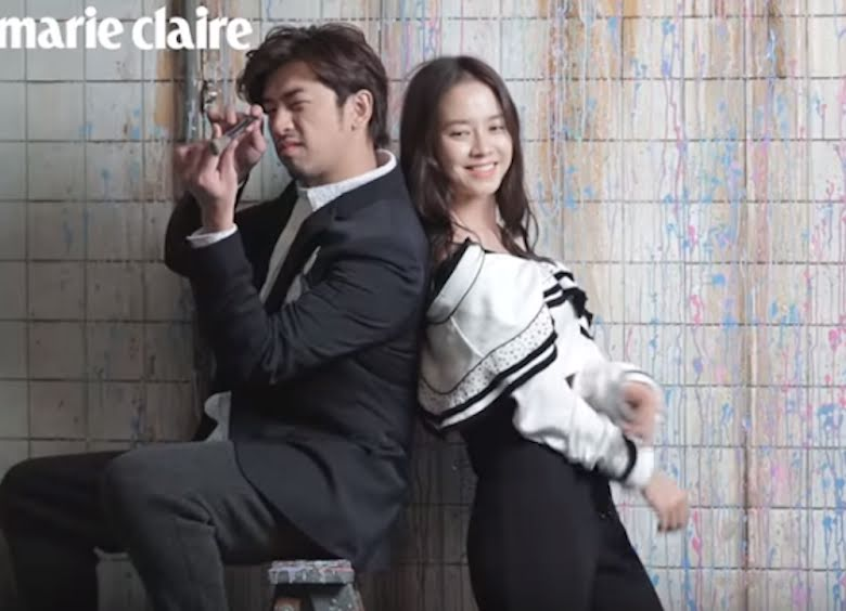 Song Ji Hyo and Chen Bolin portray a hot wedding for