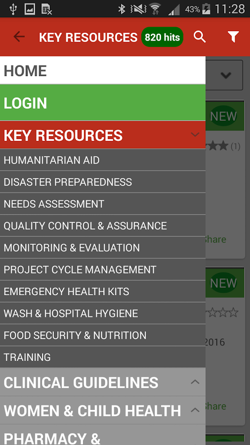 MEDBOX - The Aid Library- screenshot