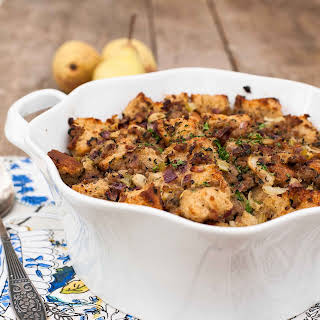 Sausage, Pear and Sage Stuffing.