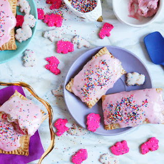 Circus Animal pop tarts with cream cheese filling