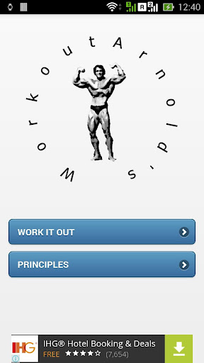 Arnold's Workout