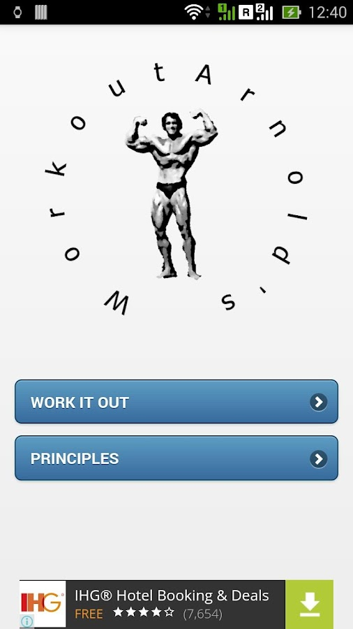 Arnold's Workout- screenshot