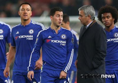 Mourinho voudrait Hazard