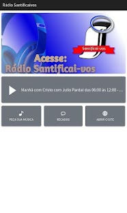 Rádio Santificai-vos- screenshot thumbnail