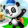 Panda and School Adventures: Learning with Fun