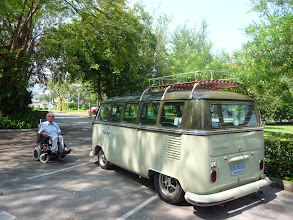 Photo: Volkswagen T1, design from Ben Pon. At the moment I own a Volkswagen T5 in the Netherlands.
