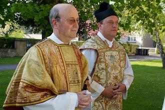 Photo: Diakon Josef Britz und Pastor Volker Teklik