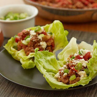 Mexican Lettuce Wraps