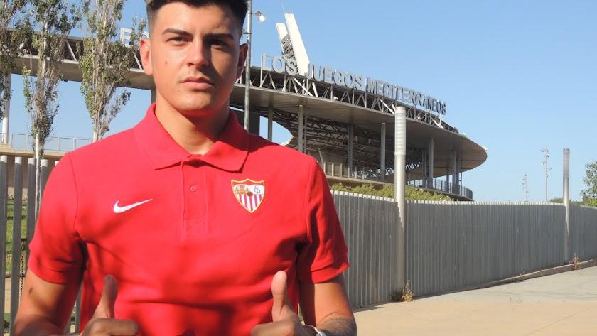 Diego Talaverón estuvo con LA VOZ en agosto.