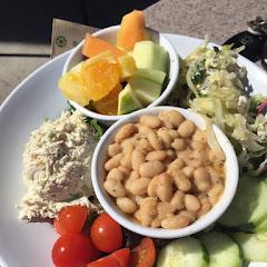 GF chicken salad sampler