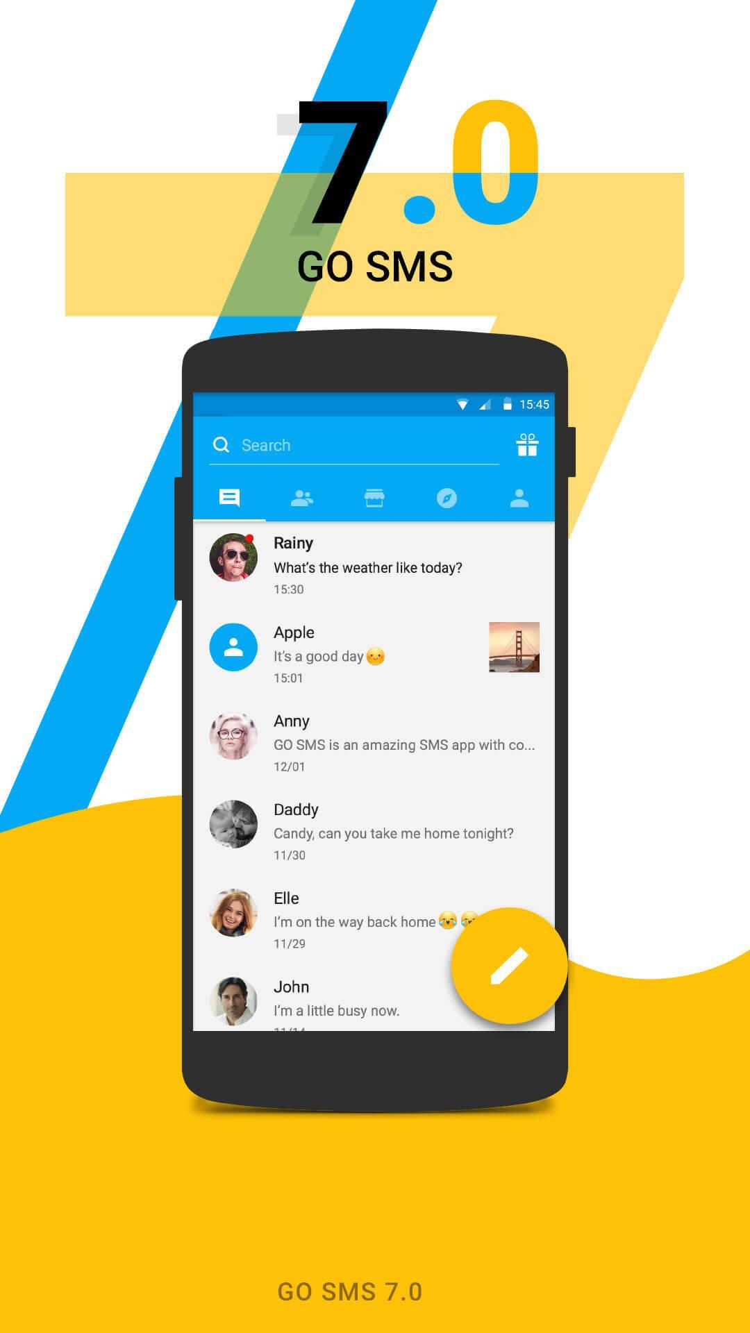 GO SMS Pro screenshot #1