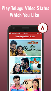 Telugu Video Status App Download For Android and iPhone 2