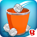 Paper Toss 3D icon