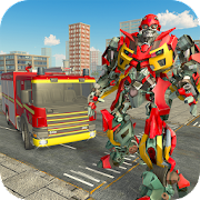 Game Fire Engine Real Robot Transformation: Robot Wars APK for Kindle