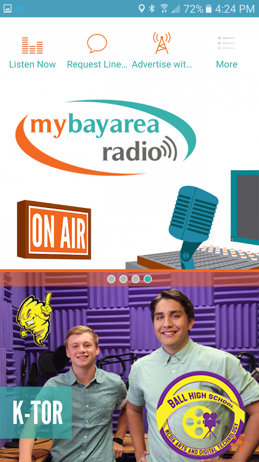 MyBayArea Radio- screenshot