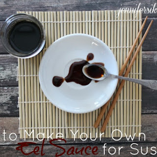 How to Make Eel Sauce for Sushi.