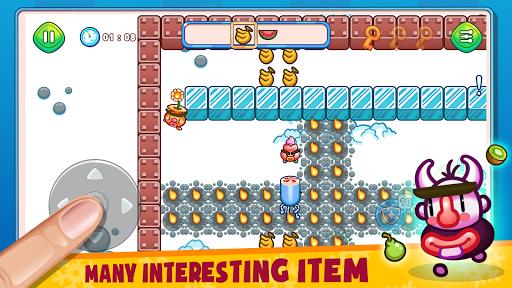 Fruit & Ice Cream - Ice cream war Maze Game 3.8 screenshots 2