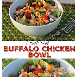 Crock Pot Buffalo Chicken Bowls