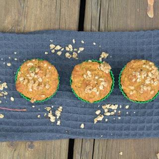 Gluten Free Pumpkin Flax Granola Muffins