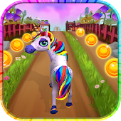 Unicorn Run - Fun Running Game