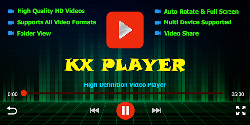 KX Player - Full HD Video Player Apk 1