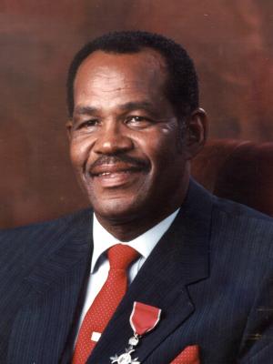 Dr. Albray Victor Butterfield Snr., D.H.L., N.P., M.B.E.