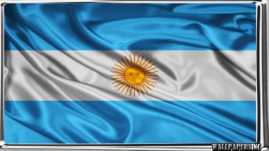 Argentina Flag Wallpaper - náhled