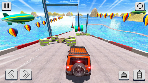 Mega Ramp Car Racing Stunts 3D - Impossible Tracks android2mod screenshots 7