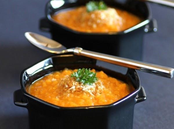 Roasted Sweet Potato And Quinoa Soup Recipe