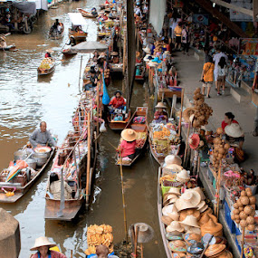 Floating Markets, Thailand by Liang Deoz - City,  Street & Park  Markets & Shops ( pwcmarkets )