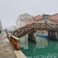 nebbia a Venezia di