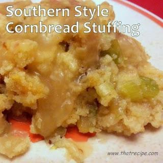 Southern Style Cornbread Stuffing
