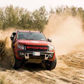 Ranger by Abdul Rehman - Sports & Fitness Motorsports ( sand, jhal magsi, pakistan, punjab, thrilling, beautiful, beauty, mother nature, dangerous, light, natural,  )
