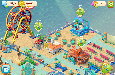 Hidden Resort Mod Apk 0.9.19 (Unlimited Stars, Coins, Lives) 7