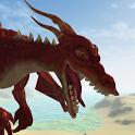 Flying Fire Drake Simulator 3D icon