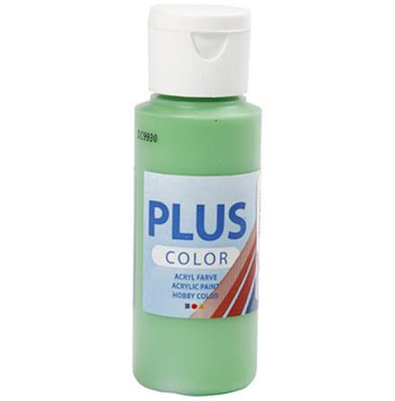 Hobbyfärg Plus color - ljusgrön, 60 ml