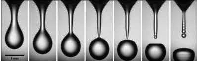 Photo: Using a water droplet as his muse, Sidney Nagel and his Lab at the University of Chicago discovered that as long as a water droplet is 'unperturbed', microscopic water droplets follow the same universal laws as celestial formations, and nuclear fission.  As important, the Nagel Lab also discovered that when a water droplet is 'perturbed' it is fundamentally different than a water droplet in an 'unperturbed system'.  Thanks to Nagel's documented work, we now know that a 'perturbed' water droplet has an inherent ability to 'retain' almost all of its 'relevant' information.So... does this have implications for the genome?  'DNA Makes RNA Makes Protein' by replacing thymine with uracil; but is there something deeper going on here? Is water a pathway? There are quite a few hydrophobic codons in the genome.  With Nagel's 'pertubations', the differentiation of codon group 'types' seems clearer.  Question: When a cell is 'perturbed', is it able to tap into multiple levels of retained biochemical information at myriad biochemical levels in an attempt to return the cell to an unperturbed balanced system?  Is RNA its vehicle?  How do we study that?