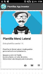 Templates App inventor 2 - náhled