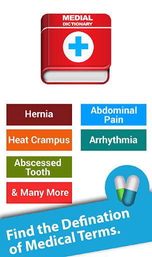 Medical Terms Dictionary 2018 1.1 screenshots 2