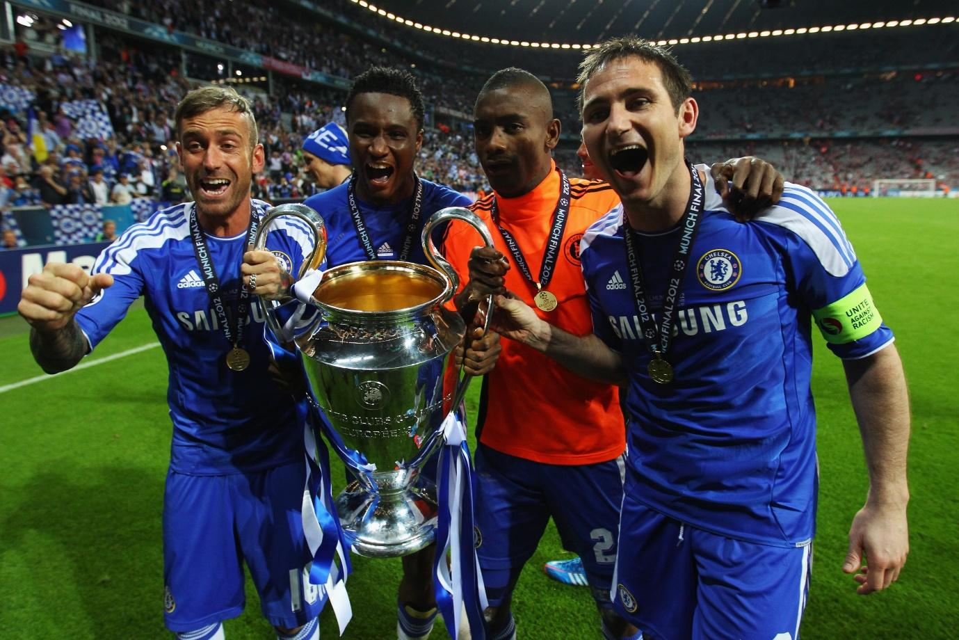 Chelsea Staff Damage UEFA Champions League Trophy   Bleacher Report    Latest News, Videos and Highlights