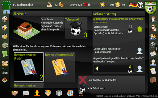 Kick it out Soccer Manager 10.0.1 screenshots 11