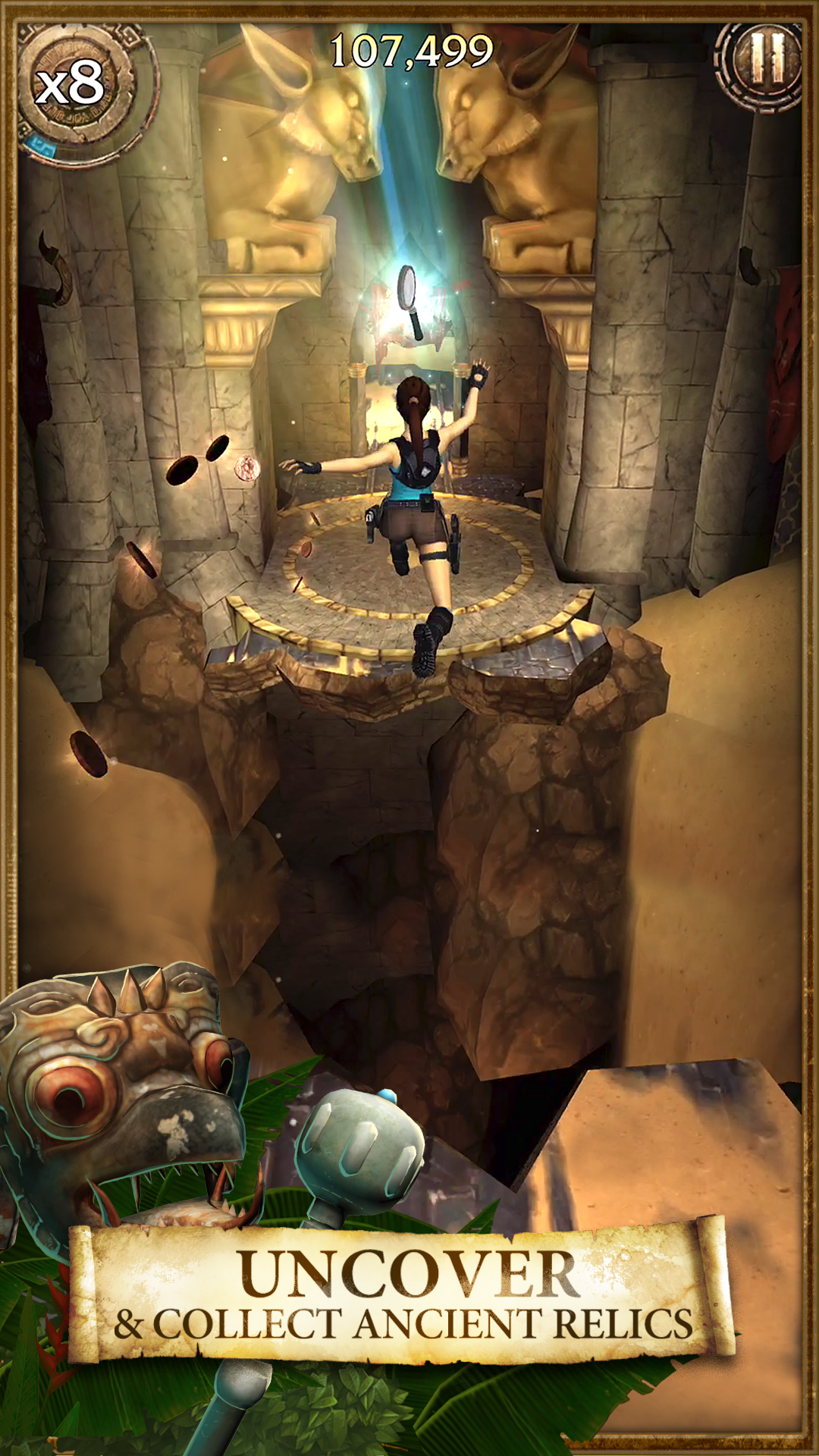 Lara Croft: Relic Run screenshot #5