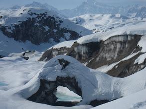 Photo: triumvirate glacier