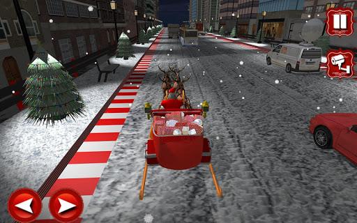 Foto do mini-Santa aventuras corrida
