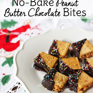Wheat Thins Peanut Butter Chocolate Bites