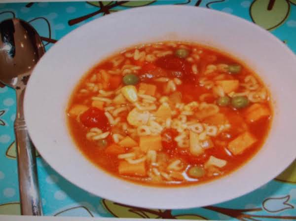 Alphabet Noodle Soup Recipe